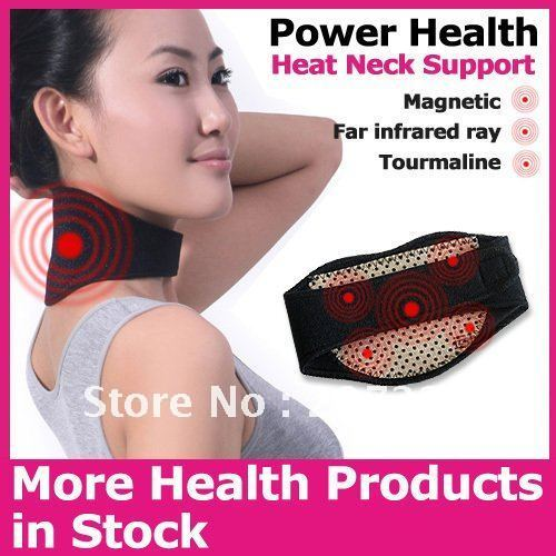 tourmaline self-heating neck guard pad protector support