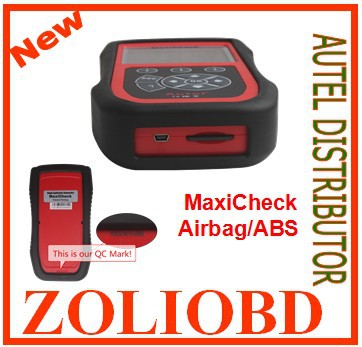 DHL MaxiCheck Airbag/ABS SRS Diagnostics Autel Maxi Check Light Service Reset - ZL Obdtoolshop Co.,Ltd. store