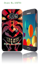 2015 New Arrival Retail 1pc Star wars Protective White Hard Case Cover For Samsung Galaxy S6 Free Shipping