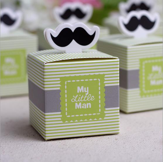 mustache birthday boy baby shower favors boxes and bags baby shower