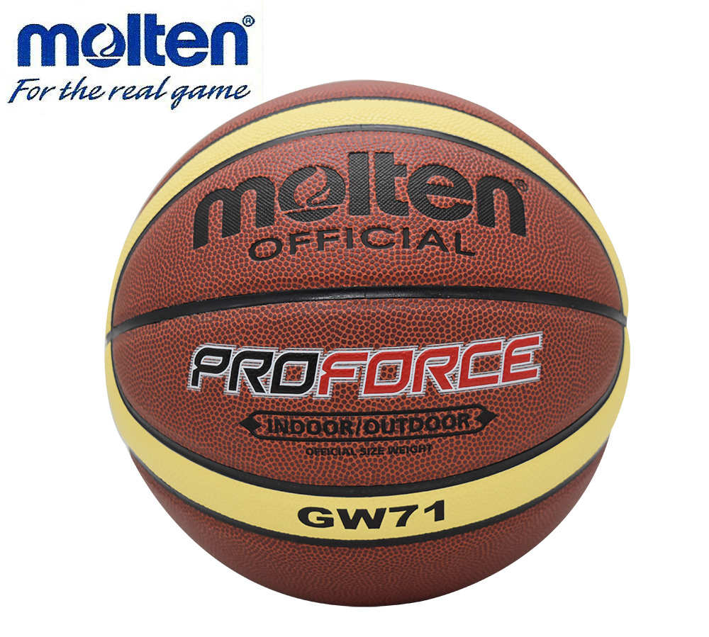 NEW Hotselling Hight Quality Molten BGW71 Men's Basketball Ball PU Materia Official Size7 Basketball Free With Net Bag+ Needle(China (Mainland))