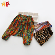 AD 2-7Y Cool Kids Pants Calf-length Super Harem Baggy Boys Girls Pants Summer Trousers Children's Clothes roupas infantil(China (Mainland))