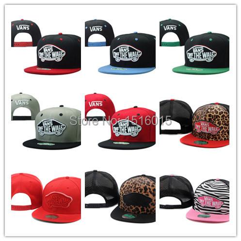 Hot! free shipping Cap Adjustable Hats Street Headwear Warped Tour 2014 Trucker Hat Off The Wall Cheetah Print New Snapback(China (Mainland))