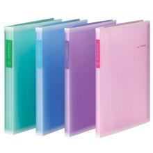 Colorful A4 PVC Clear Book Presentation Folder 30/40/60 Pockets File Folder Document Folder Display Book Office Supplies(China (Mainland))