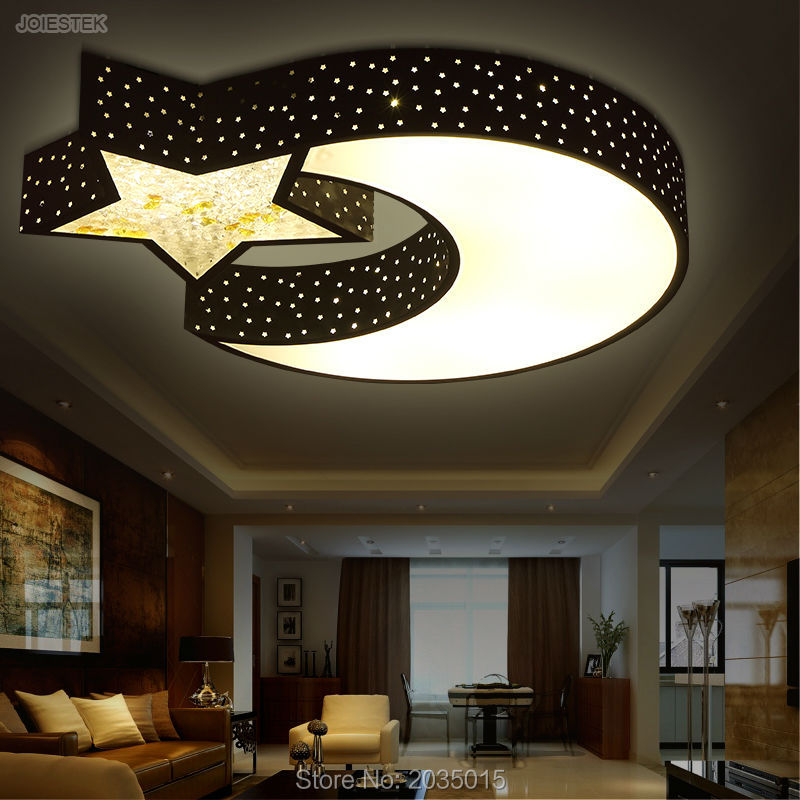 Lovely cartoon bedroom living room led children ceiling for Kids ceiling lights for bedroom