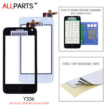 Buy Tested 4.0 inch Black White Touch screen HUAWEI Ascend Y360 Touch Screen Digitizer Replacement Parts Free Adhesive Y3 Y336 for $5.02 in AliExpress store