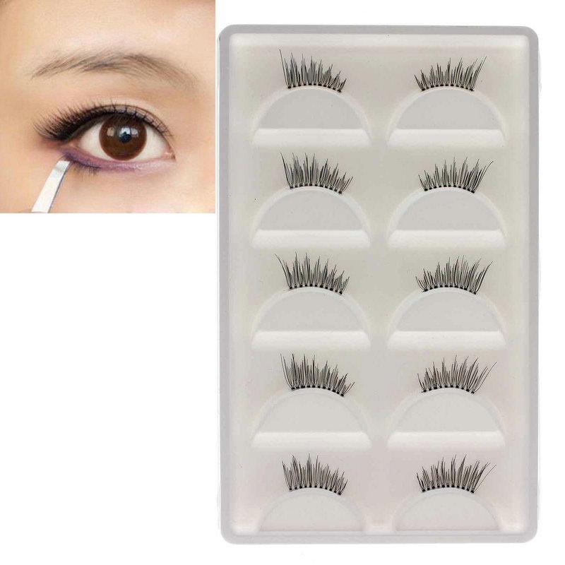 Wholesale Ladys Half False Eyelashes Eye Lashes Beauty Makeup Tool