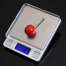 Buy 2kg 0.1g Kitchen Digital Scale Stainless Steel Electronic Weight LCD Display Jewelry Scale Overload Promption Free for $11.59 in AliExpress store