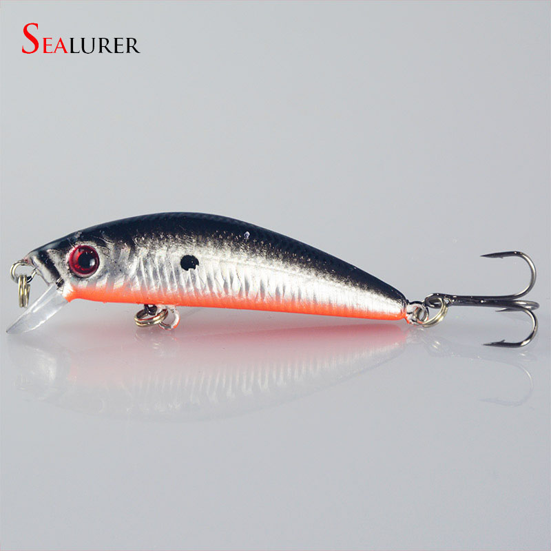 1pcs 8.5g 7cm Minnow Lure Sea Fishing Tackle Fishing Kit Hard Bait Jig Wobbler Plastic Lure Fishery Feeder Fishing Lure YE-126(China (Mainland))