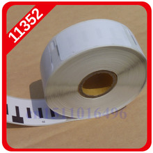 2014 50 X Rolls Dymo Compatible Labels 11352 1352 for Seiko Slp 430 Etiketten Return Address Labelwriter 400 450 Turbo 54mm 25mm