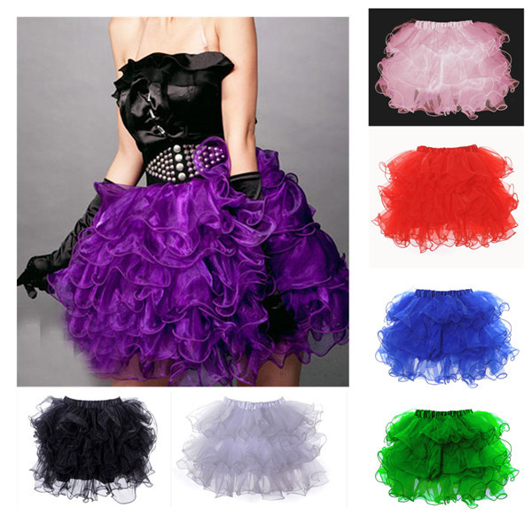 2015 Top New Arrival Dropped Lace Solid Skirts Womens Fee Shipping Plus Size Tutu Skirt Sexy Skirts Women Corset Petticoat(China (Mainland))