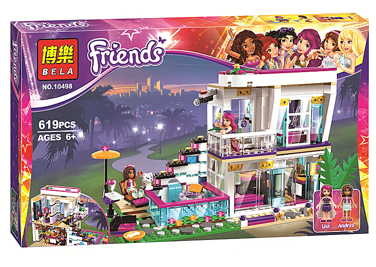 Journey Camp Tree Home Stephanie Emma Pleasure 793pcs Pals Sequence Constructing Block Minifigure Ladies Toy Suitable With Lego