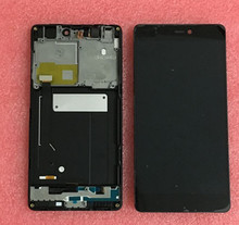 LCD screen display + Touch digitizer with frame For xiaomi mi4C 4C mi4C (not for xiaomi mi4 or M4I )black color free shipping(China (Mainland))