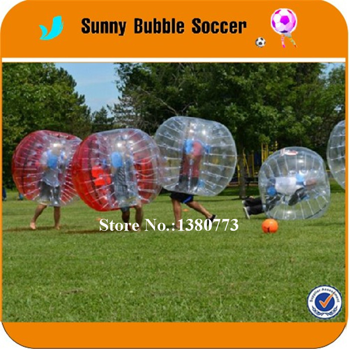 10pcs +1blower 1.5m TPU Body Zorb Ball For Team Building ,loopy Ball,Bumper Ball,Bubble Soccer ,Human Hamster Ball For Sale(China (Mainland))