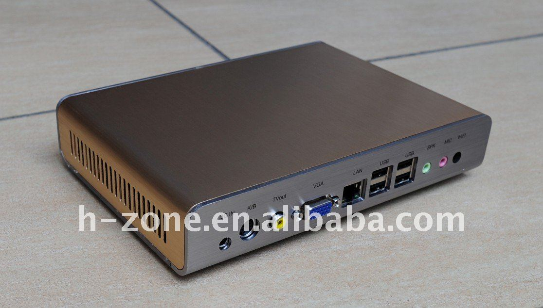 Multi user pc share terminal with ATOM N270 1.6Ghz processor,1GB RAM,8GB Storage,WINXP OS support 720P HD video,printer(Hong Kong)