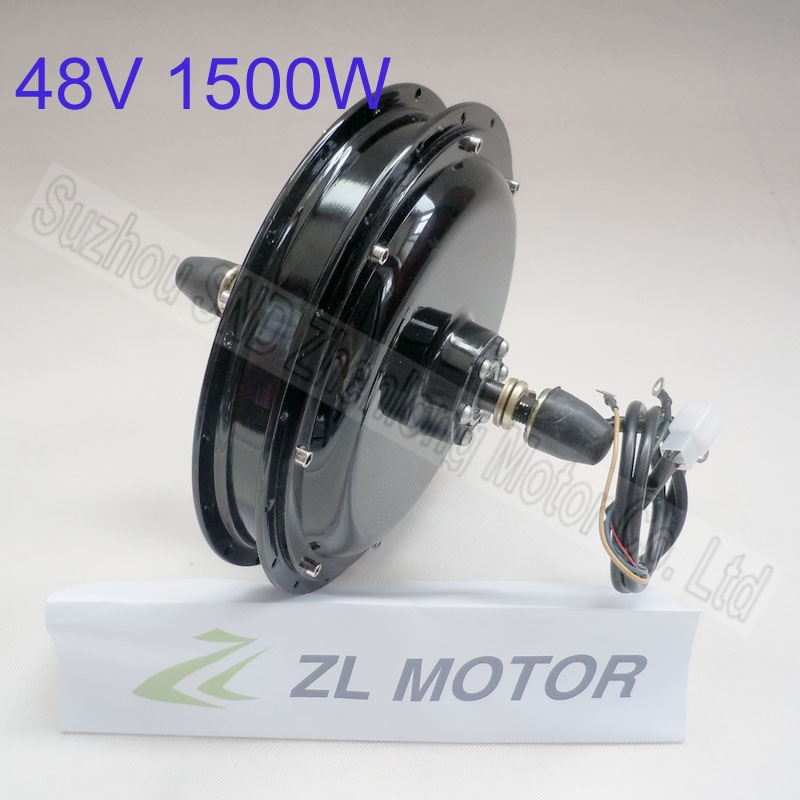 1500w 48V60v Customized rear electric bike spoke wheel brushless dc hub motor G-M037  -  Suzhou SND Zhenlong Motor Co. Ltd store