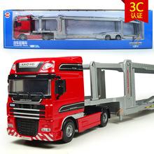 free shipping high quality 1:20 kaidiwei brand Engineering Vehicle model Wholesale toy car similar as siku-big transport truck(China (Mainland))