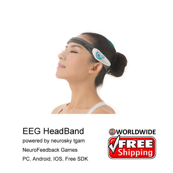 Brainlink lite MindWave Brainwave headset bluetooth mind control widget, brainwave game, neurofeedback device<br><br>Aliexpress