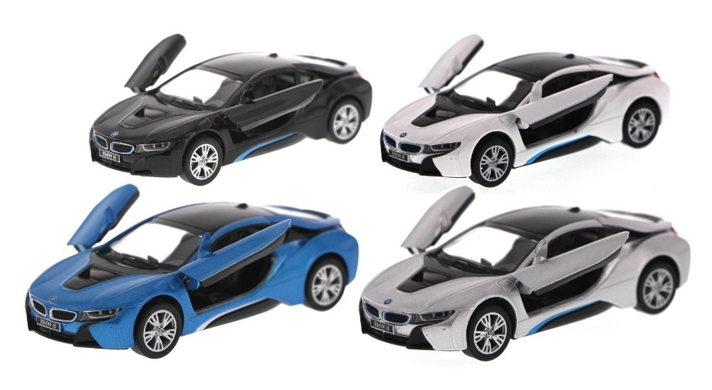 Kid Toys Colecionaveis Car Styling 1:36 Die cast Model Brinquedos For New I8 Concept Coupe Electric Car Alloy Toys Gift Display(China (Mainland))