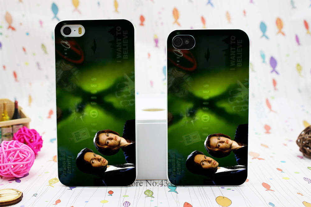 New X Files Style Hard White Skin Case Cover for iPhone 5 5s 5g 4 4s(China (Mainland))