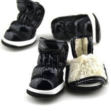 Kat Tasarım Kış Köpek Ayakkabı Deri köpek ayakkabıları Sıcak moda ürünü Soğuk Rahat Cilt dostu Pet köpek çizmeleri()