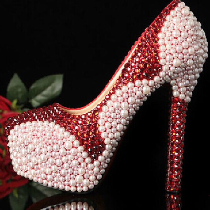 Wedding Shoes Handmade crystal rhinestone high heel female ladys Women Bridal Evening shoe Prom Party club Bar Bridesmaid shoes<br><br>Aliexpress