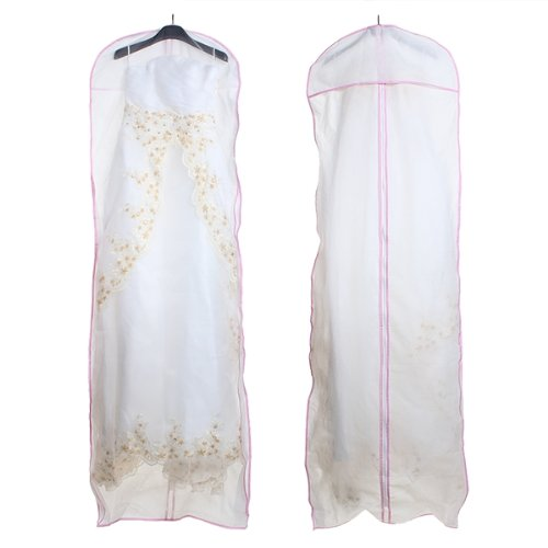 Best selling Wedding Evening Dress Gown Garment Storage Cover Bag Protector 174cm(China (Mainland))