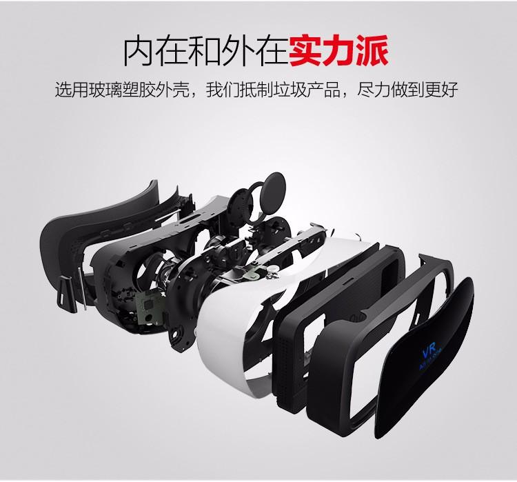 ถูก คนทั้งหมดในหนึ่งVRชุดหูฟังใหม่360 All-in-oneความจริงเสมือน3D VRแว่นตาCore 1080จุดFOV WiFi BT 4.0อย่างเต็มที่ที่สมจริงหมวกกันน็อค