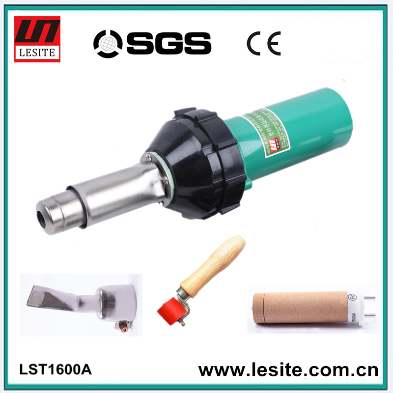 Venta caliente CE aprobó portátil máquina de soldadura hoja de termoplástico pp pe pvc de soldadura pistola de aire caliente(China (Mainland))