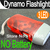 Christmas Free Shipping 3 Color Dynamo Wind Up Flashlight Torch Light Hand Press Crank NR Camping 3 LED