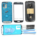 Original Full Housing Cover Frame Screen Glass Replacement for Samsung Galaxy S4 mini full housing i9190