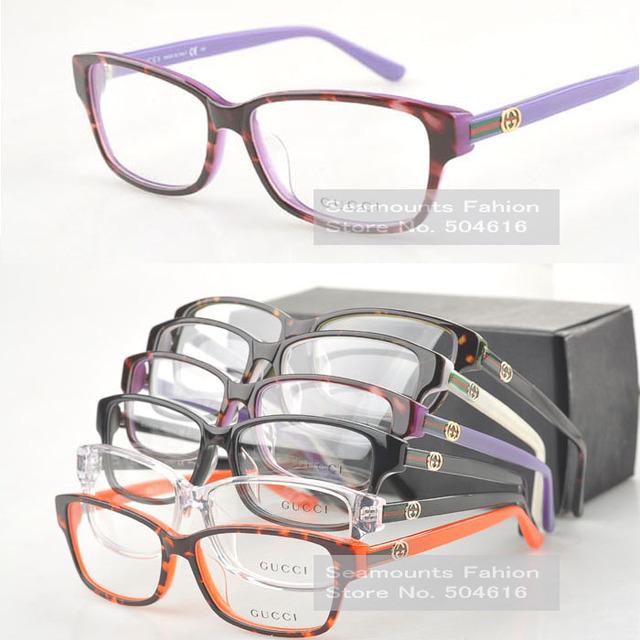 Acetate Women Ladies Big High Quality Trendy Italian Optic Frame GG3562 Reading Glasses Frame