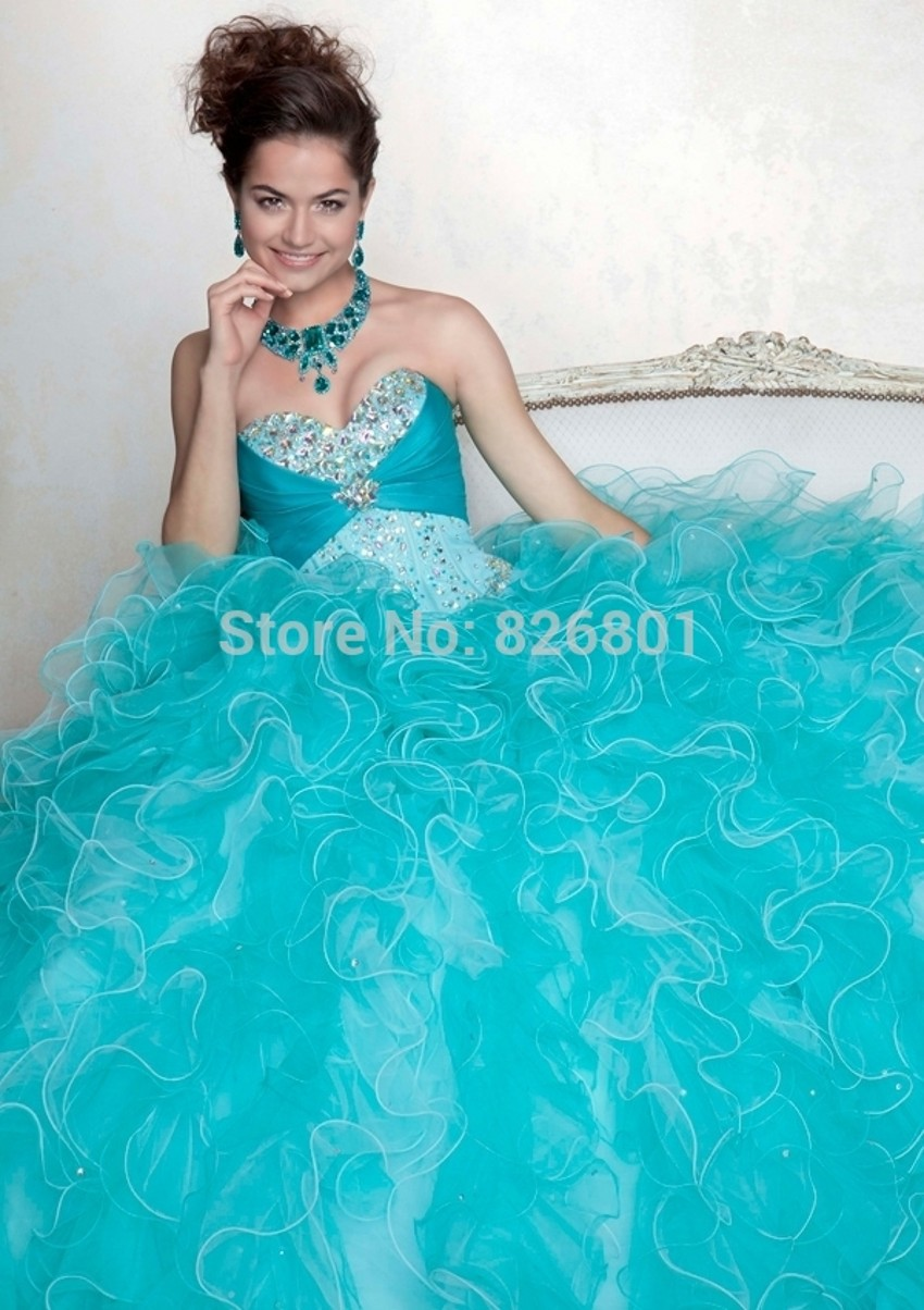 Baby Blue Quinceanera Dresses