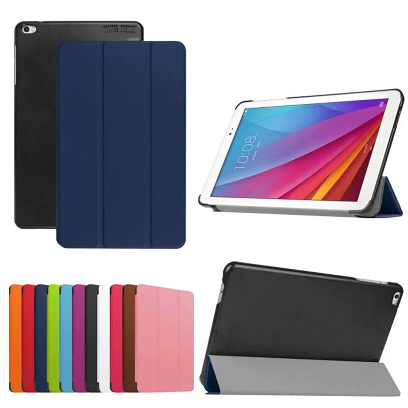 """Mecall Tech Slim Leather Case Stand Cover For Huawei For Mediapad T1 10 T1-A21w 9.6"""" Tablet New Free Shipping(China (Mainland))"""