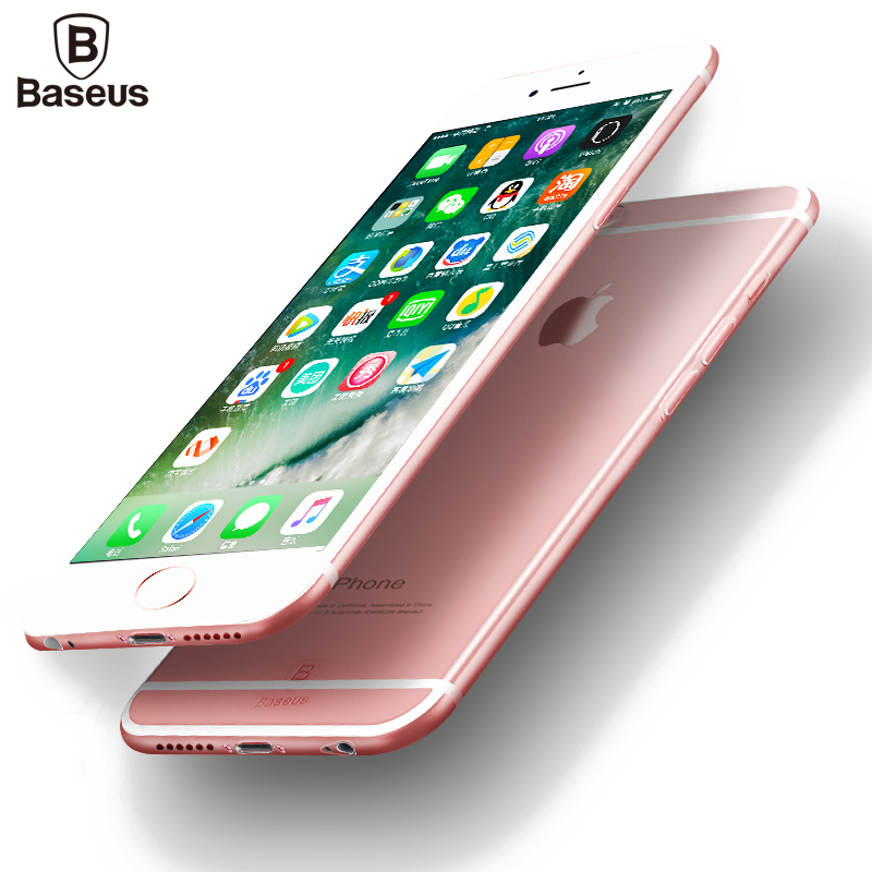 Baseus Ultra Thin Soft TPU Phone Case For iPhone 6 6s Plus Slim Crystal Clear Silicone Back Cover For iPhone 6 6s Phone Bag Case(China (Mainland))
