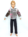NK One Set Prince Doll Informal Handmade Garments Jacket Pants Outfits  for barbie boy firend for barbie doll ken 022C