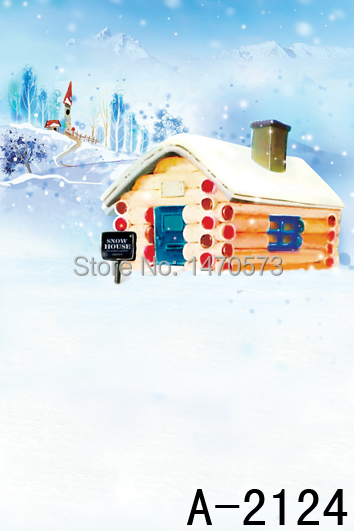 Computer Printing Wedding Ceremony Stage Backdrop Christmas shopping window decoration A-2124(China (Mainland))