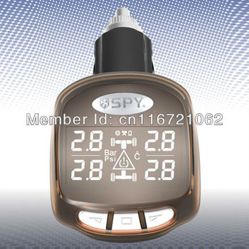 SPY Best Selling Car Tire Pressure Monitor System Good Quality Car Tyre Temperature Monitor & Pressure Monitor!