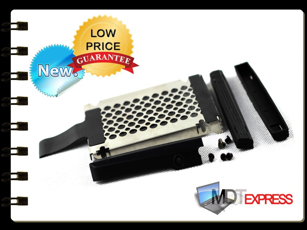 New! Hard Disk Drive HDD Caddy Cover w/ Rails & Screws for IBM Lenovo T400 R400(China (Mainland))