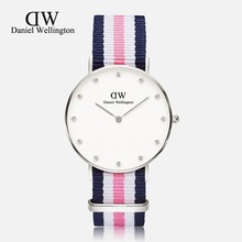Top Brand Luxury watches Daniel Wellington DW Watch For Men Nylon Strap Military Quartz Wristwatch women Clock Reloj hombre