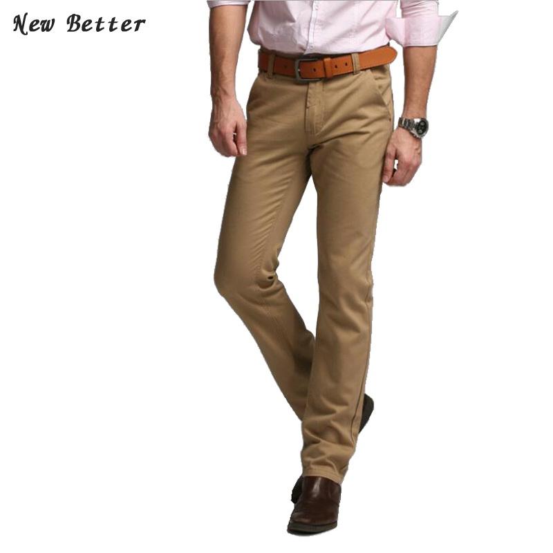 trousers casual pants brand for men dress pant Men's slim fit suit Pants workout mens khaki pants Cotton trousers plus size(China (Mainland))