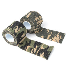 5cmx4.5m Army Camo Outdoor Sports Hunting Shooting Tool Camouflage Stealth Tape Waterproof Wrap Durable Useful