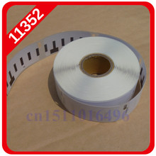 2014 Hot Sale Top Fasion Adhesive Sticker Accept Shipping Labels 100 X Rolls Dymo Compatible Labels 11352,54mm 25mm 500 11352
