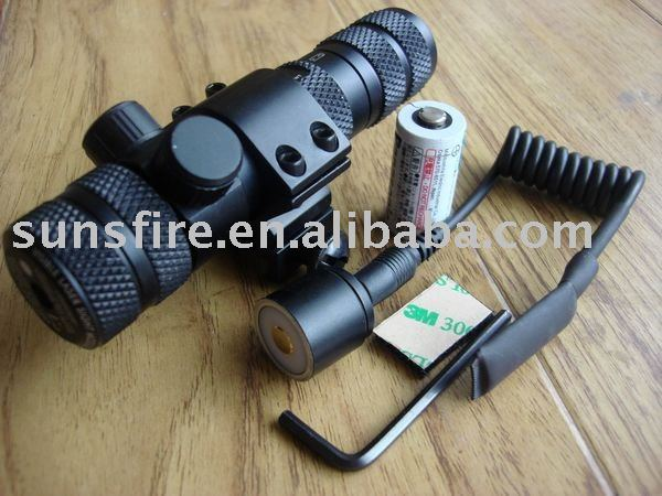 quickly release mount 21mm tactical green laser sight and laser scope
