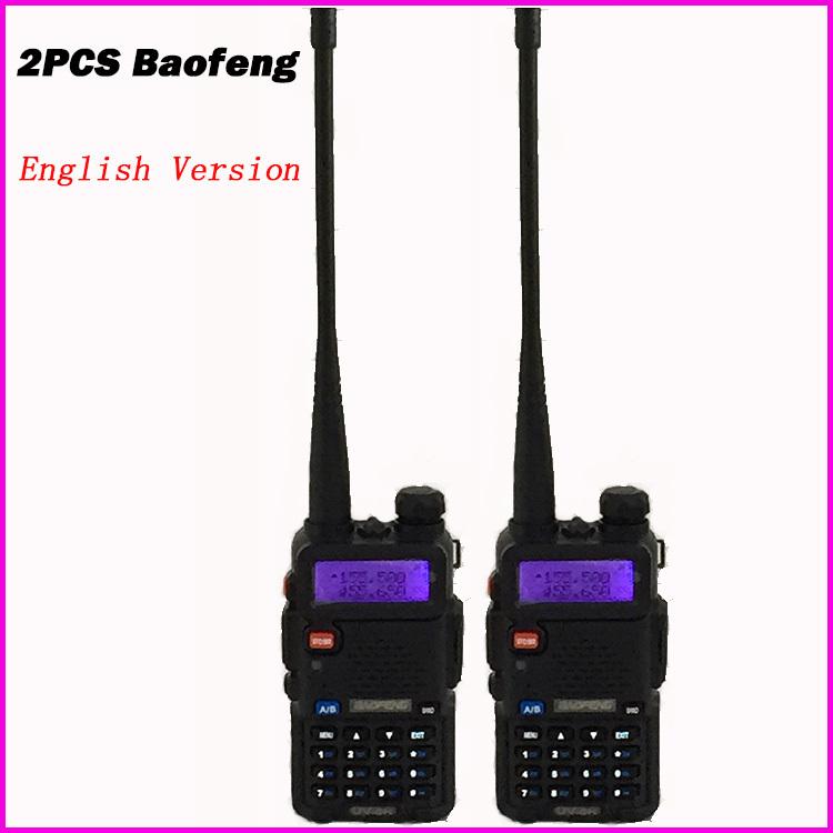 2pcs UV5R VOX 10 Km Walkie Talkie pair Two Way Radio Station Car CB Ham Radio For Bao Feng Police Equipment uv 5r Baofeng uv-5r(China (Mainland))