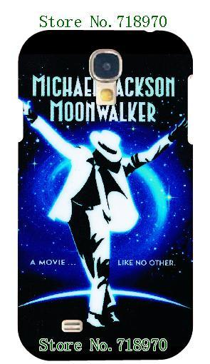 2015 new Dance michael jackson moonwalker white hard cases for samsung galaxy s4 i9500 + free shipping(China (Mainland))