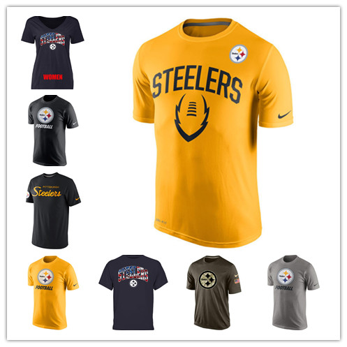 2016 100% stitcheds,top quality,Pittsburgh Steelers,Los Angel Rams,Tampa Bay Buccaneers,T-shirt,for men ans women(China (Mainland))