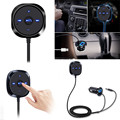 New Arrival Bluetooth 4 0 Wireless Music Receiver 3 5mm Adapter Handsfree Car Kit AUX Speaker