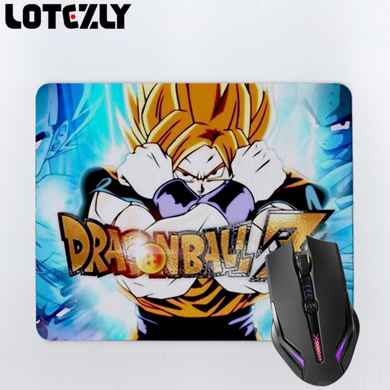 Cartoon Dragon Ball Z Anime Rubber Mousepad Anti-Slip Laptop PC Gaming Mice Pad Desk Keyboard Overlock Mouse Mat(China (Mainland))