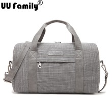 UU Family Business Linen Travel Bag Suitable for Trolley Travelling Bag and Luggage for Women Outdoor Sports Bag Bolsas de viaje(China (Mainland))